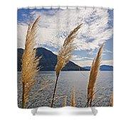 Lake Maggiore Shower Curtain by Joana Kruse