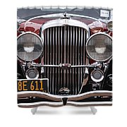 1933 Duesenberg Model J - D008167 Shower Curtain by Daniel Dempster