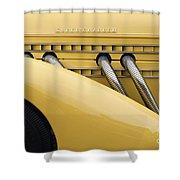 1935 Auburn 851 Sc Speedster Detail - D008160 Shower Curtain by Daniel Dempster