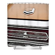 1966 Ford Thunderbird Shower Curtain by Gordon Dean II