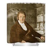 A. P. De Candolle, Swiss Botanist Shower Curtain by Science Source