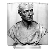 Alexander Pope (1688-1744) Shower Curtain by Granger
