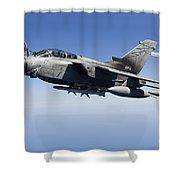 An Italian Air Force Tornado Ids Shower Curtain by Gert Kromhout