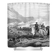 Battle Of Buena Vista, 1847 Shower Curtain by Granger