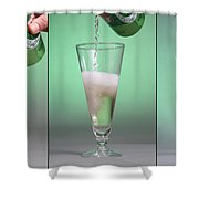 Carbonated Drink Shower Curtain by Photo Researchers, Inc.