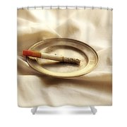 Cigarette Shower Curtain by Joana Kruse