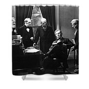 Film Still: Abraham Lincoln Shower Curtain by Granger