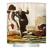 French Revolution, 1792 Shower Curtain by Granger