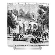 Harpers Ferry Shower Curtain by Granger