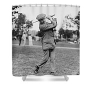 Harry Vardon (1870-1937) Shower Curtain by Granger