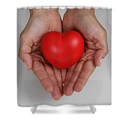 Heart Disease Prevention Shower Curtain by Photo Researchers, Inc.