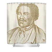 Henry Box Brown, African-american Shower Curtain by Photo Researchers