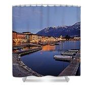 Lake Maggiore - Ascona Shower Curtain by Joana Kruse