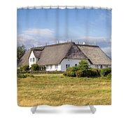 Munkmarsch - Sylt Shower Curtain by Joana Kruse