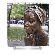 PHILLIS WHEATLEY Shower Curtain by Granger