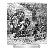 Plantation Life Shower Curtain by Granger