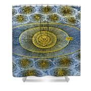 Plurality Of Worlds, Leonhard Euler Shower Curtain by Science Source