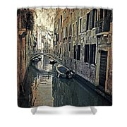 Venezia Shower Curtain by Joana Kruse