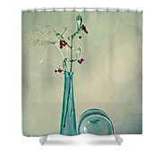 Autumn Still Life Shower Curtain by Nailia Schwarz