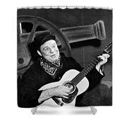 Burl Ives (1909-1995) Shower Curtain by Granger