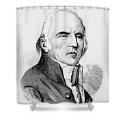 Chevalier De Lamarck Shower Curtain by Granger