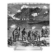 Chief Joseph (1840-1904) Shower Curtain by Granger