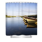 Dunfanaghy, County Donegal, Ireland Shower Curtain by Peter McCabe