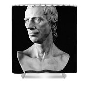 Laurence Sterne (1713-1768) Shower Curtain by Granger