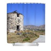 Paros - Cyclades - Greece Shower Curtain by Joana Kruse