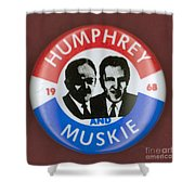 Presidential Campaign, 1968 Shower Curtain by Granger