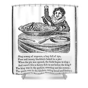 Sing A Song Of Sixpence Shower Curtain by Granger