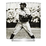 Ty Cobb (1886-1961) Shower Curtain by Granger