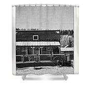 3th Avenue Shower Curtain by Priska Wettstein