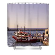 Chania - Crete Shower Curtain by Joana Kruse