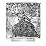 Charles Deon De Beaumont Shower Curtain by Granger
