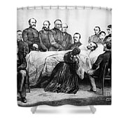 Death Of Lincoln, 1865 Shower Curtain by Granger