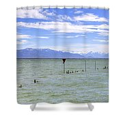 Lake Constance Shower Curtain by Joana Kruse