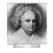 Martha Washington, American Patriot Shower Curtain by Photo Researchers