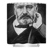 Victor Hugo, French Author Shower Curtain by Photo Researchers