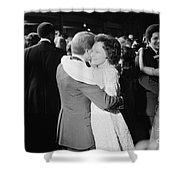 Jimmy Carter (1924- ) Shower Curtain by Granger