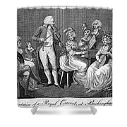George IIi (1738-1820) Shower Curtain by Granger