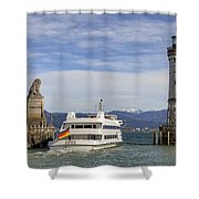 Lindau Shower Curtain by Joana Kruse