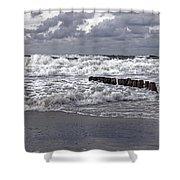 Kampen - Sylt Shower Curtain by Joana Kruse