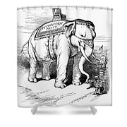 Presidential Campaign, 1884 Shower Curtain by Granger