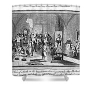 Spanish Inquisition Shower Curtain by Granger