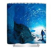 Alaska, Juneau Shower Curtain by John Hyde - Printscapes