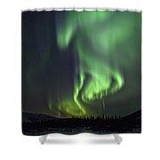 Aurora Borealis Or Northern Lights Shower Curtain by Robert Postma