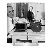 Harry S. Truman (1884-1972) Shower Curtain by Granger