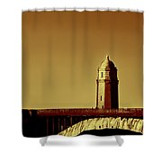 A Bridge Of Two Cities Shower Curtain by Dana DiPasquale