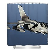 A Panavia Tornado Gr4 Of The Royal Air Shower Curtain by Gert Kromhout